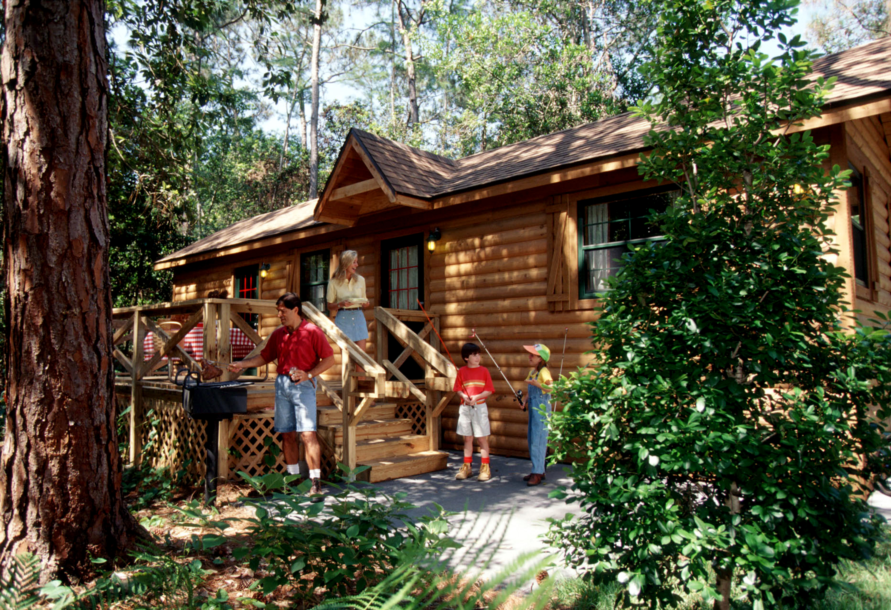 Magical distractions i disney 39 s fort wilderness resort for Fort wilderness cabins reservations