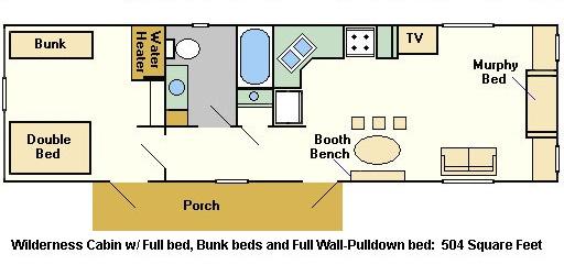 Fort Wilderness Cabins Floor Plan: Magical DIStractions I Disney's Fort Wilderness Resort