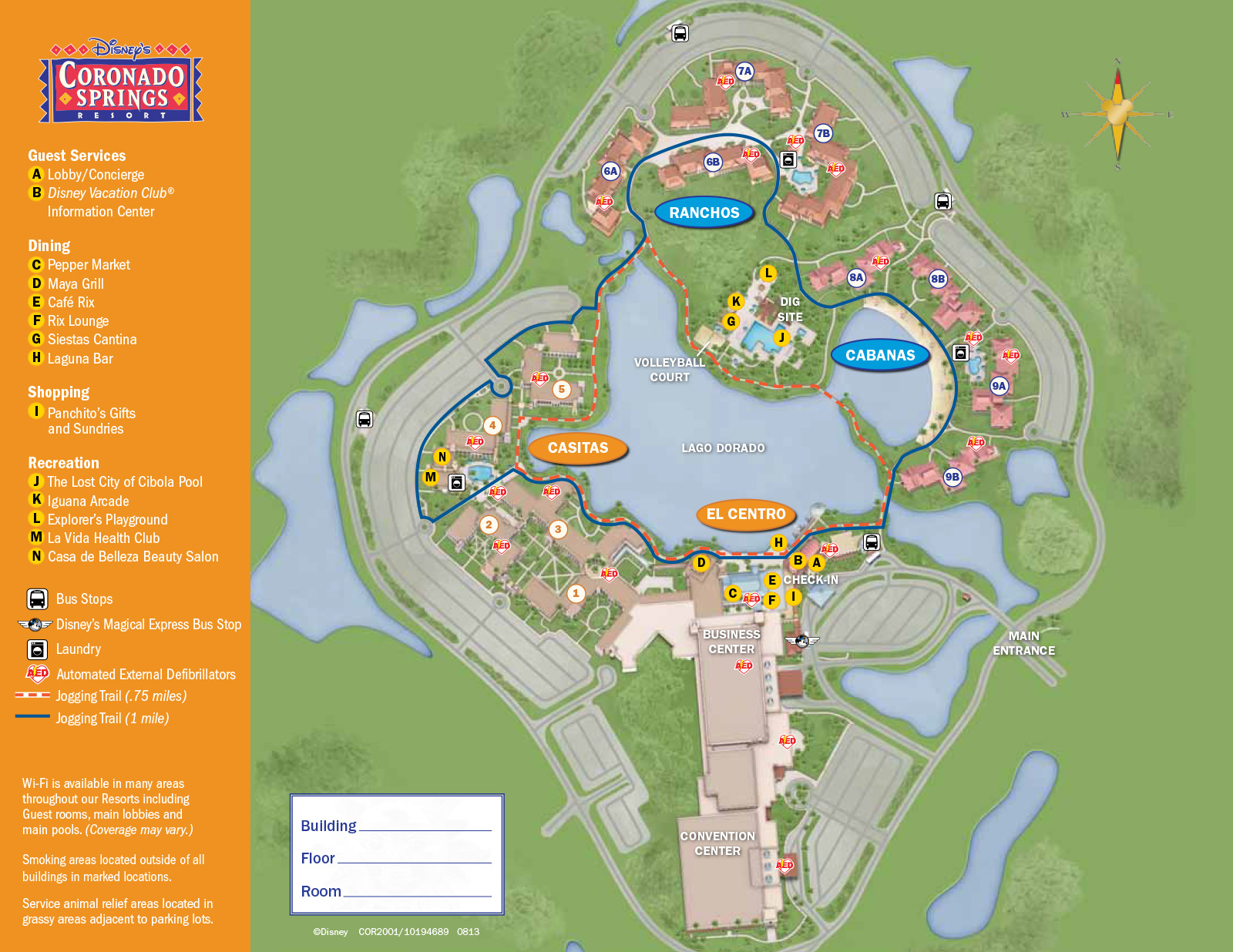 resort maps magical distractions