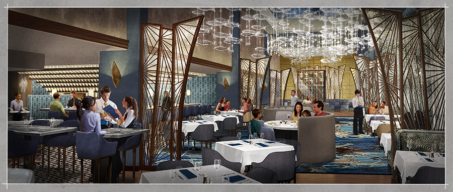 Change flies into flying fish at disney 39 s boardwalk for Flying fish cafe disney