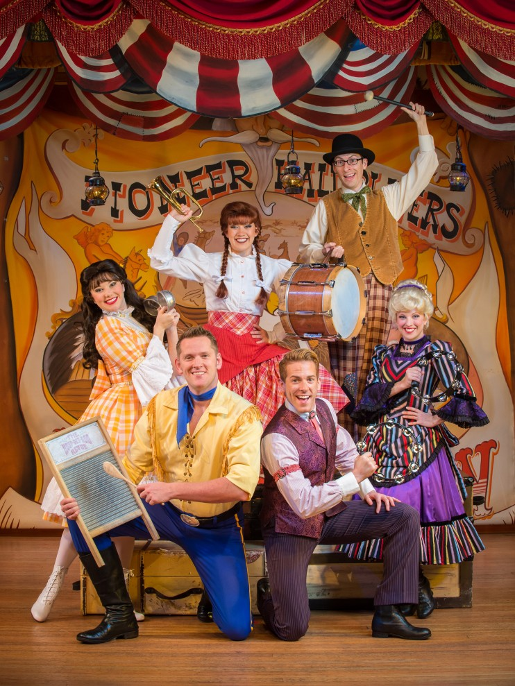A Rootin Tootin Good Time Hoop Dee Doo Musical Revue