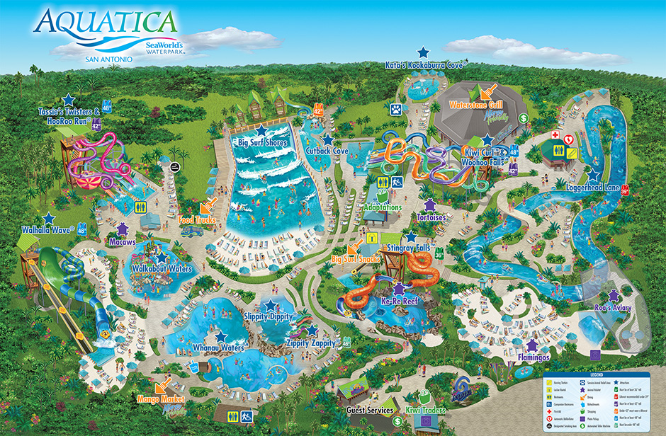 Theme Park Maps Magical DIStractions - Sea world map