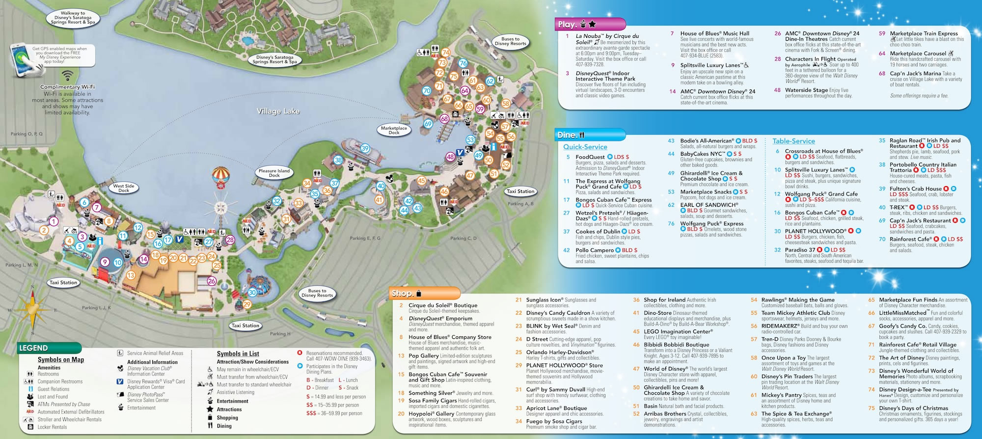 Theme Park Maps Magical Distractions