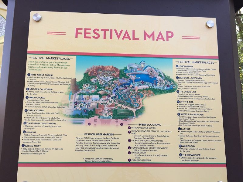 Yummy Fun At The 2017 Disney California Adventure Food Amp Wine Festival Magical Distractions